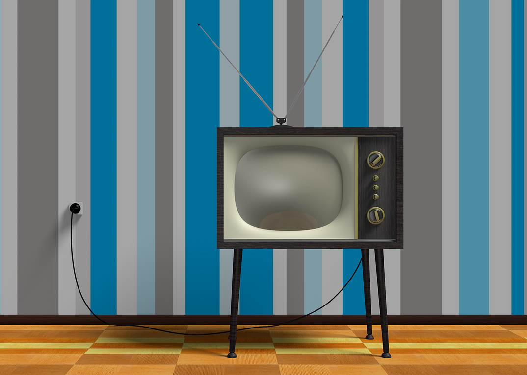 Image of retro TV set.