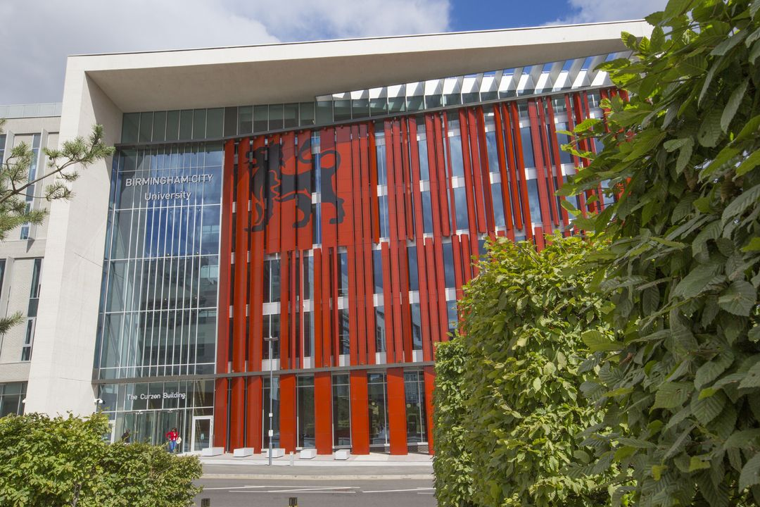 Front View of Curzon Building BCU