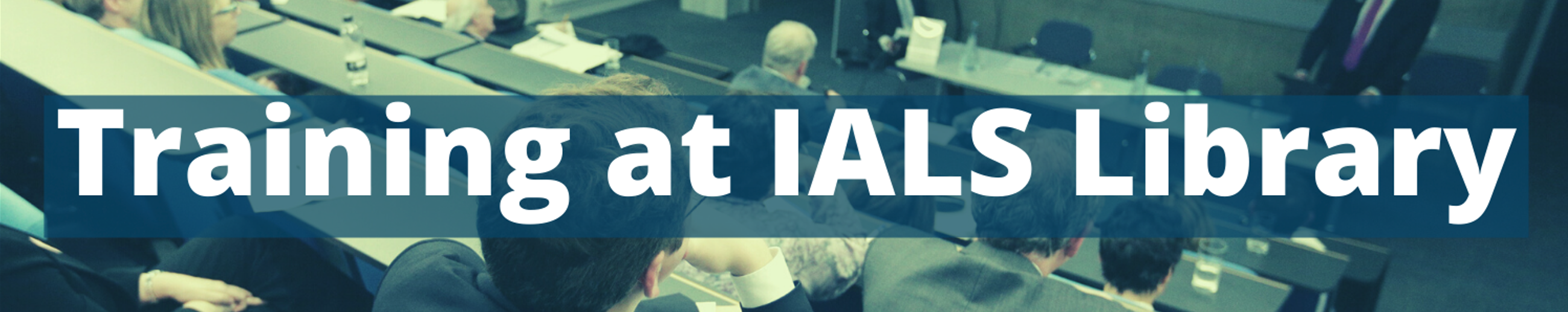 Training at IALS Library