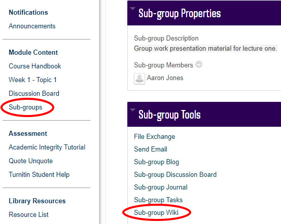 picture sub groups