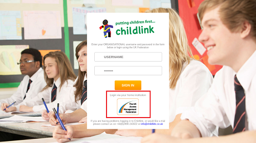 Childlink UK Access Management Federation