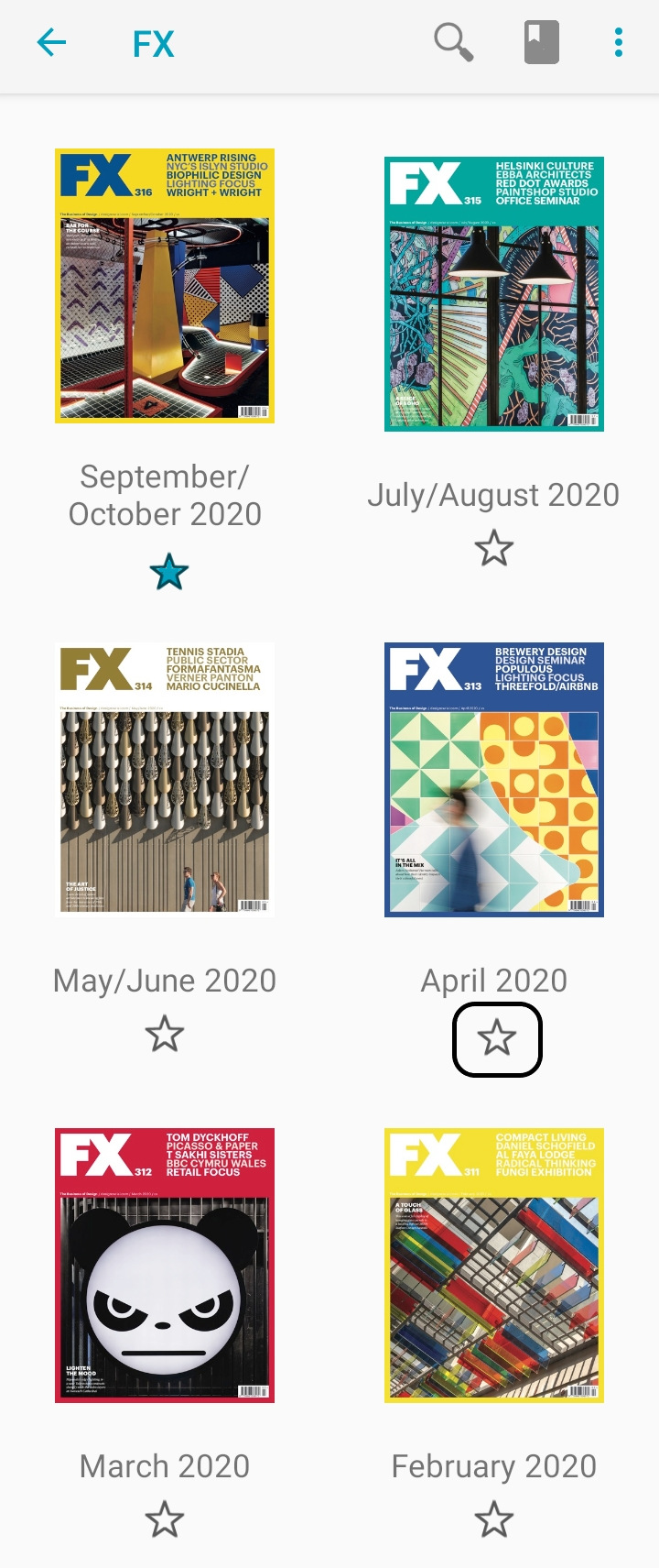 Latest and archive issues of FX on Exactly