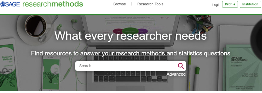 Sage Research Methods for you dissertation