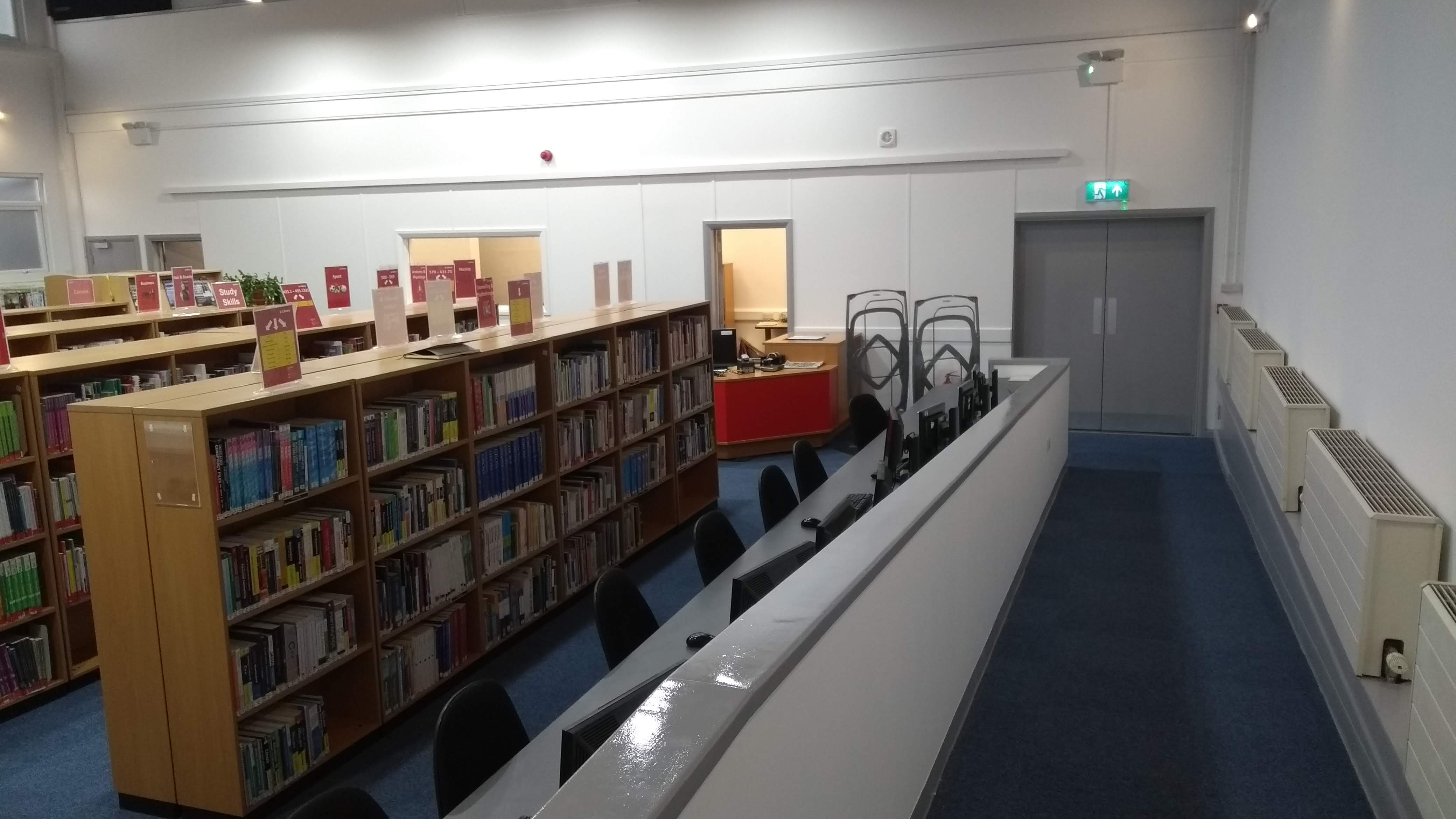 North Notts College Library