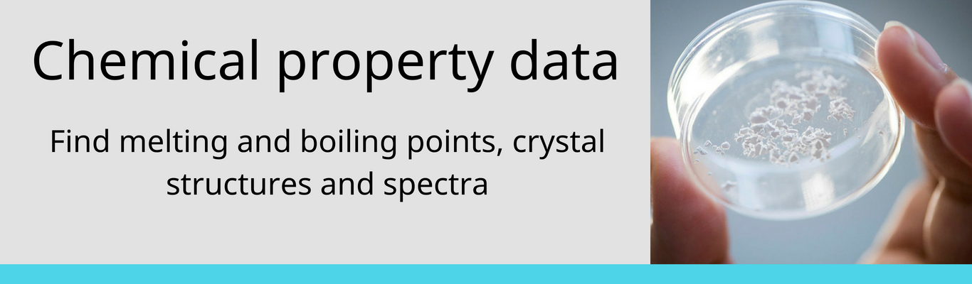 chemical property data