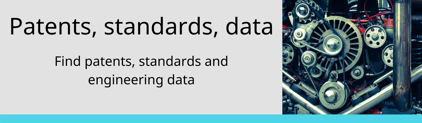 patents standards data