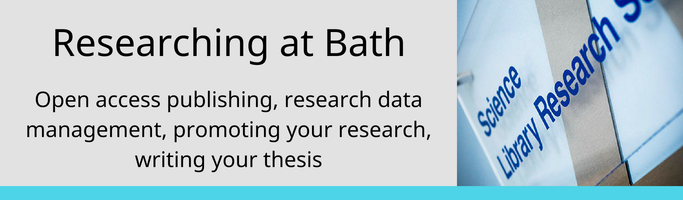 researching at Bath