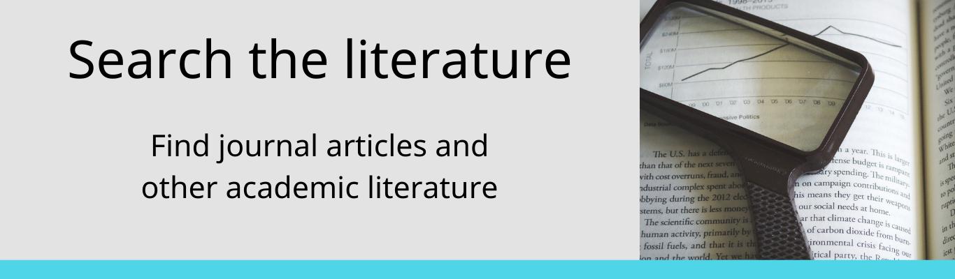 search the literature