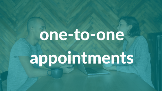 One-to-one appointments