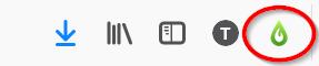 Libkey Nomadin logo selaimen yläpalkissa.