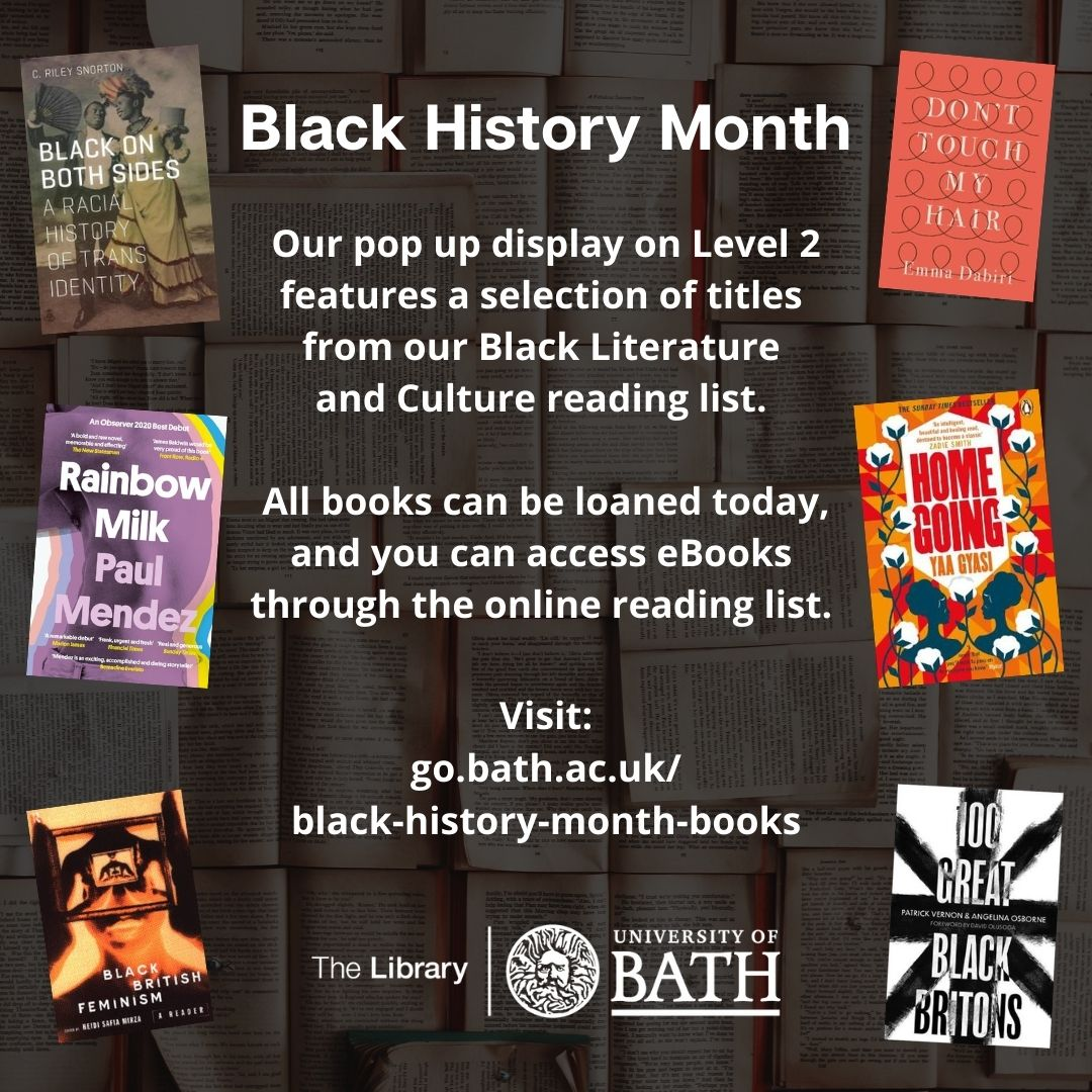 Black History Month: Library List and display