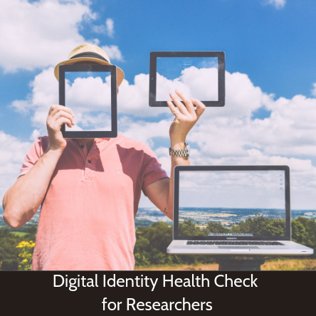Digital identity health check for researchers