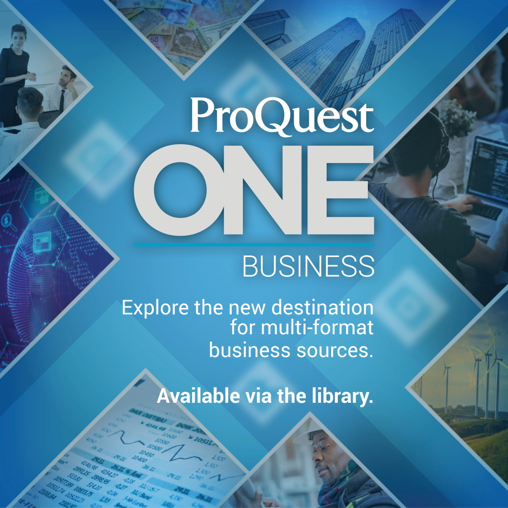 New database: PQ One Business
