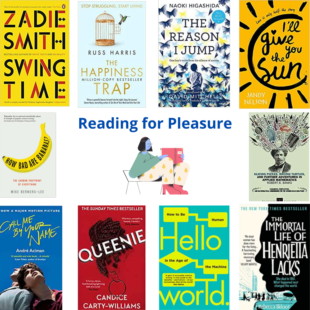 New Library guide: Reading for pleasure