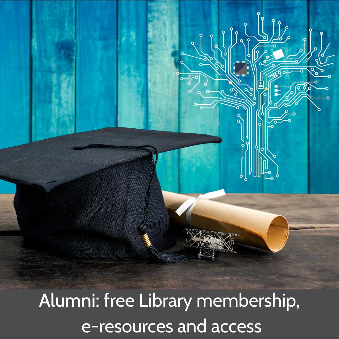Alumni: free Library membership, e-resources and access
