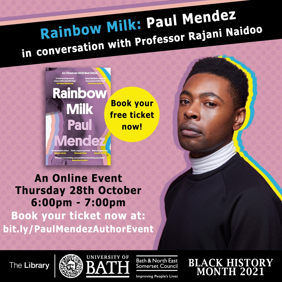 Rainbow Milk: online event, 28 Oct. Tickets available!