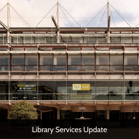 Library Services Update 14 September
