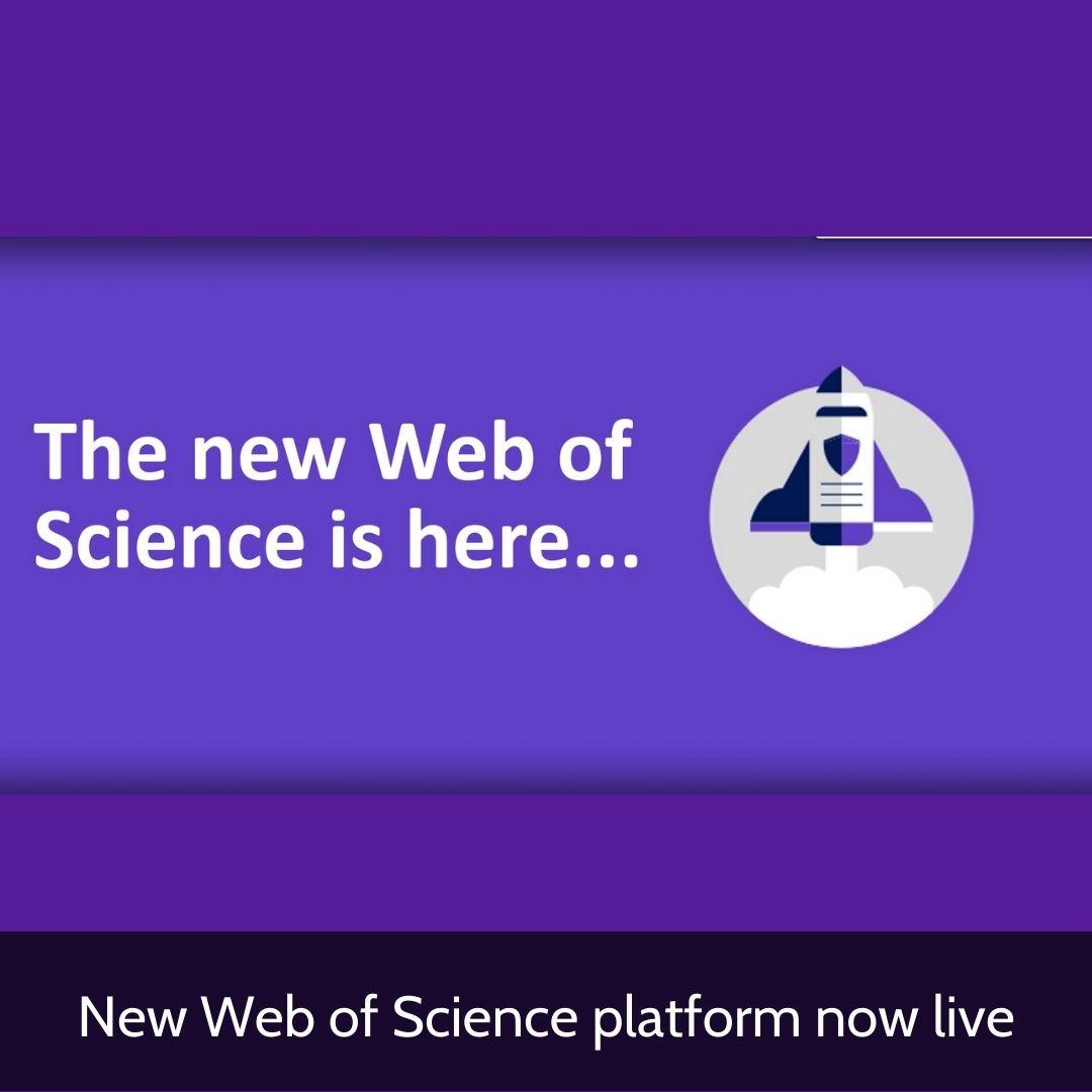 New WoS platform - image of rocket