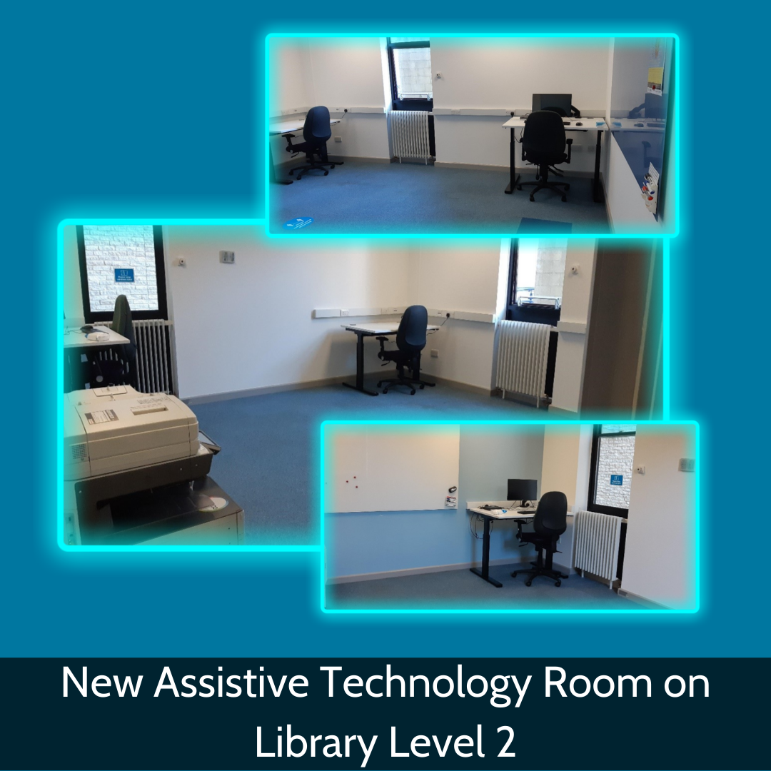 New Assistive Technology Room on Library Level 2