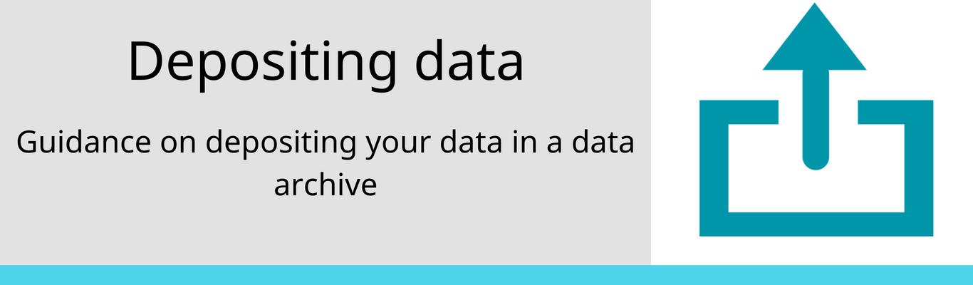 depositing data