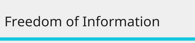 freedom of information guidance