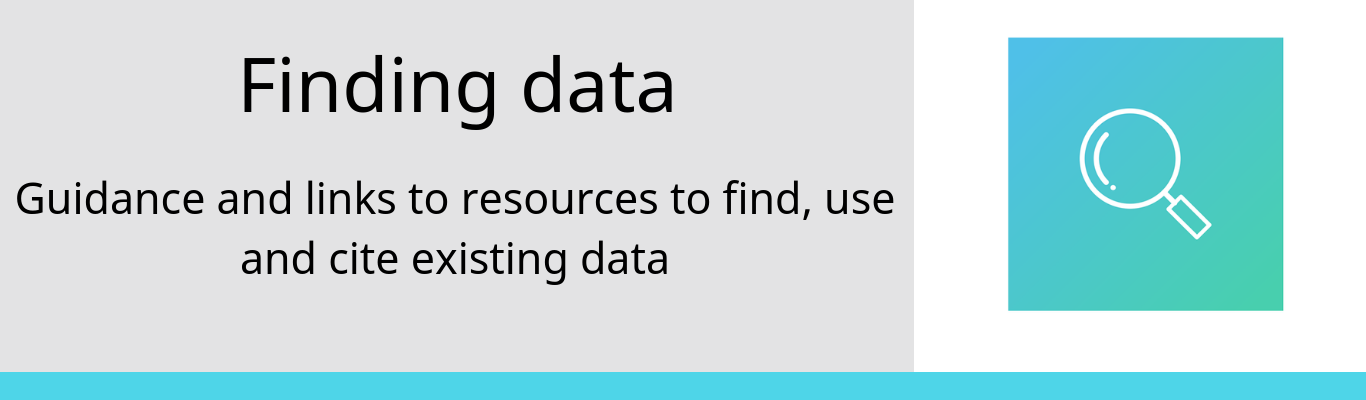 gathering finding reusing and citing data
