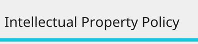 Intellectual property ordinance