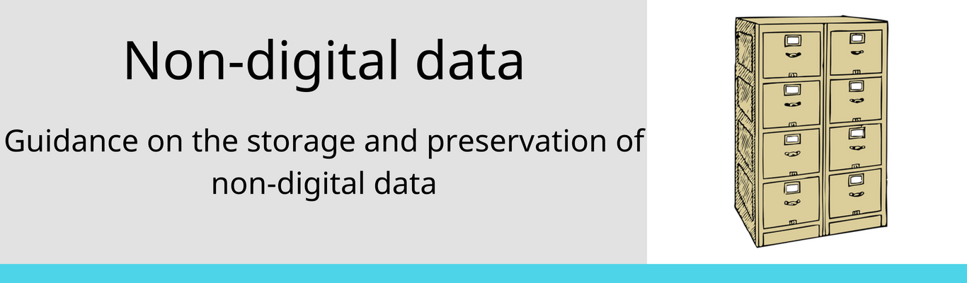 preservation of non-digital data