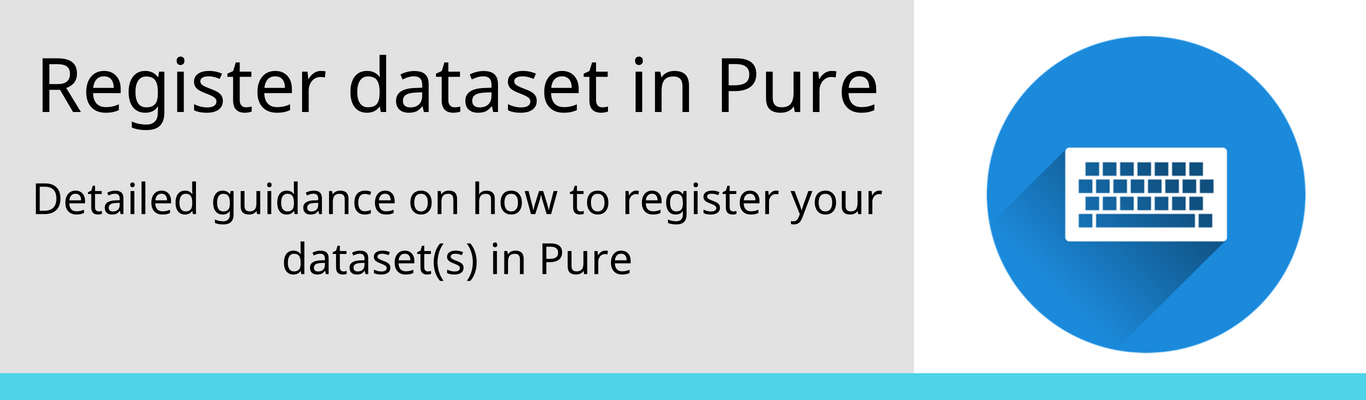 registering your dataset in pure