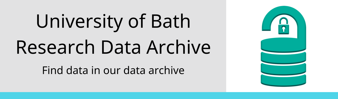 university of bath research data archive
