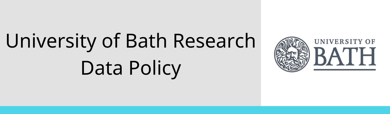 University of Bath Research Data Policy