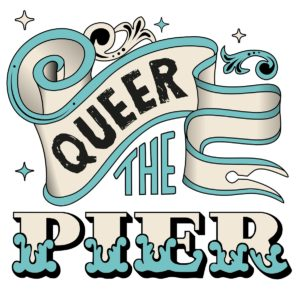 Queer the Pier logo