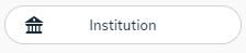 The 'Institution' login button from Nkoda.