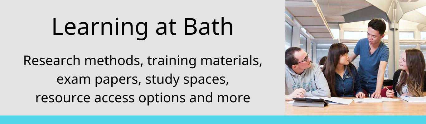 Learning at Bath