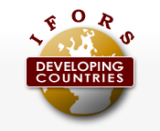 Logo for IFORS Developing Countries