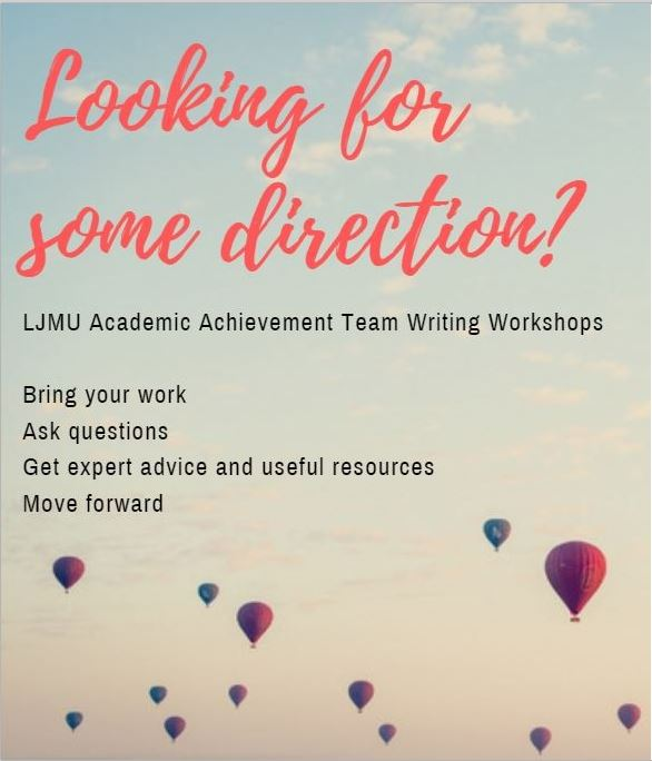 Academic Writing Workshop - 'Drop In'