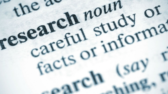 image dictionary definition of research
