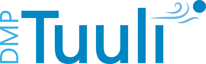 DMPTuuli logo.
