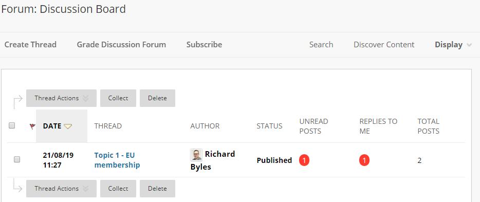 Screen-grab, Discussion board, forum