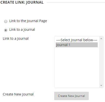 Screen-grab, create link journal