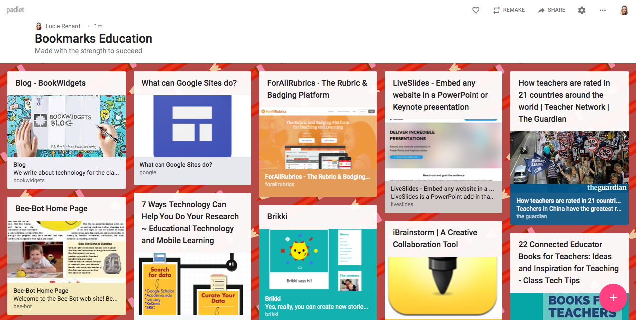 Example Padlet