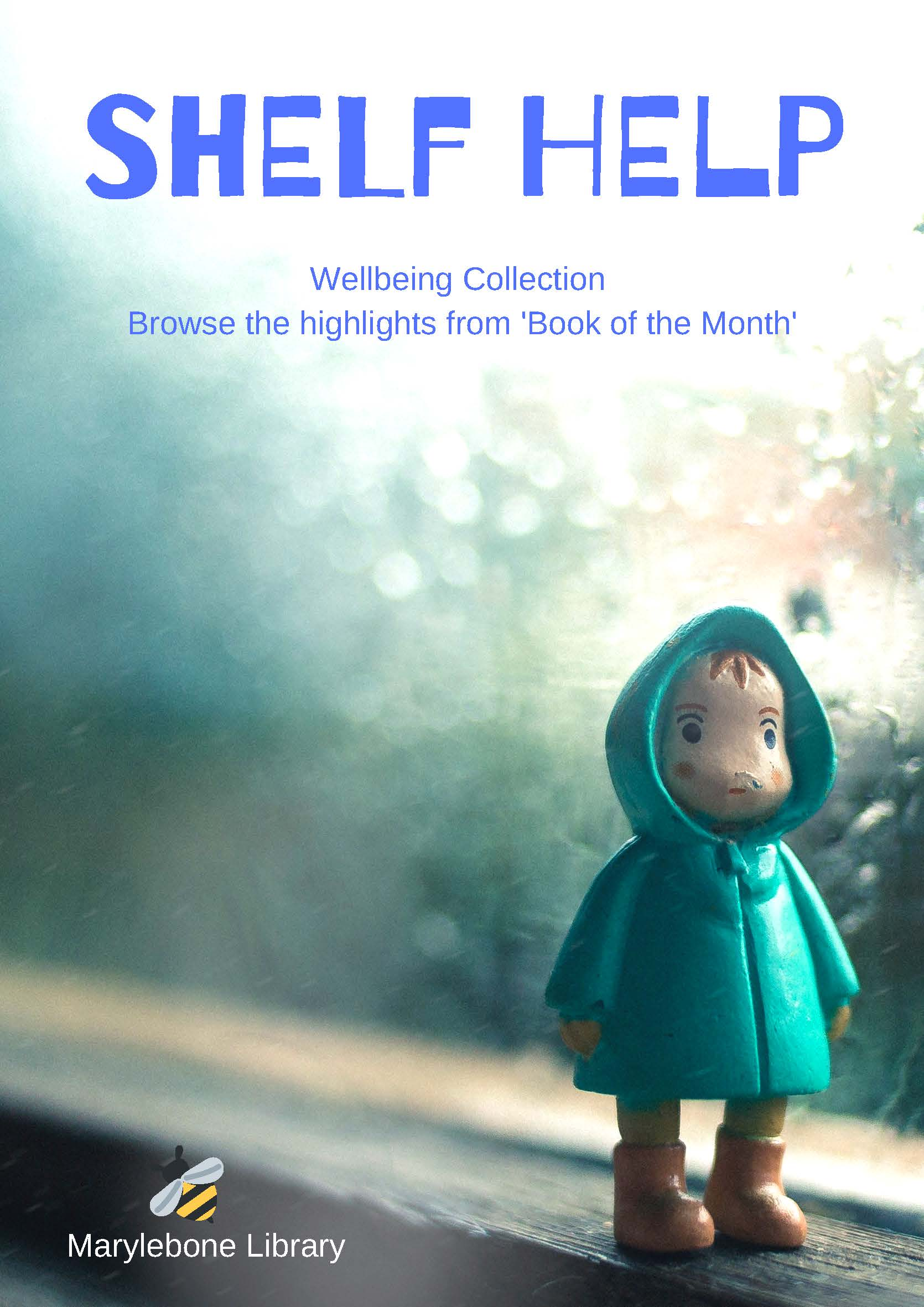Shelf Help wellbeing Collection book highlight of the month front cover of booklet