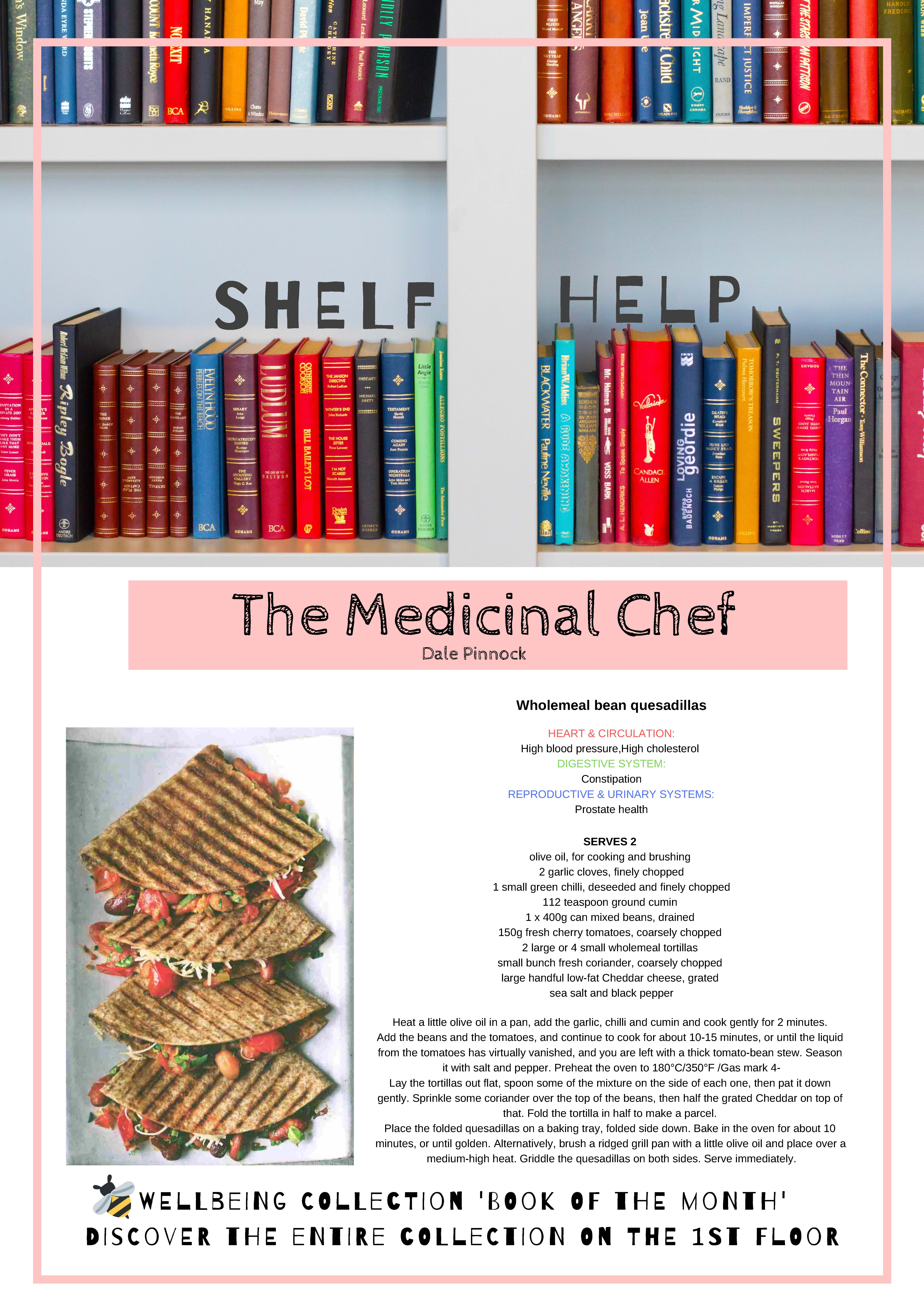 Review  and photo of book  The Medicinal chef by Dale Pinnock