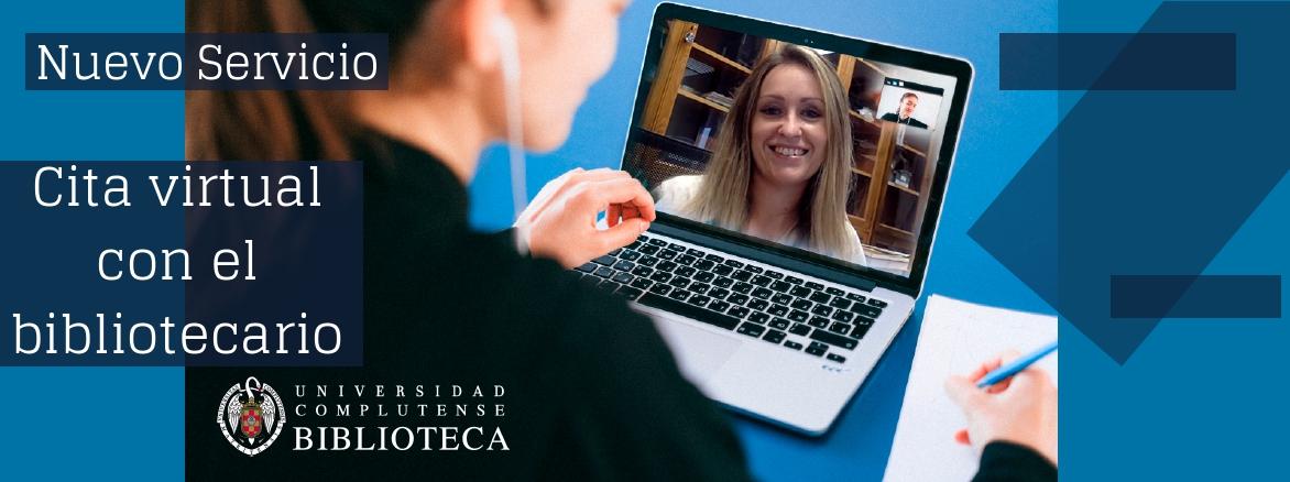 Cita virtual con el bibliotecario