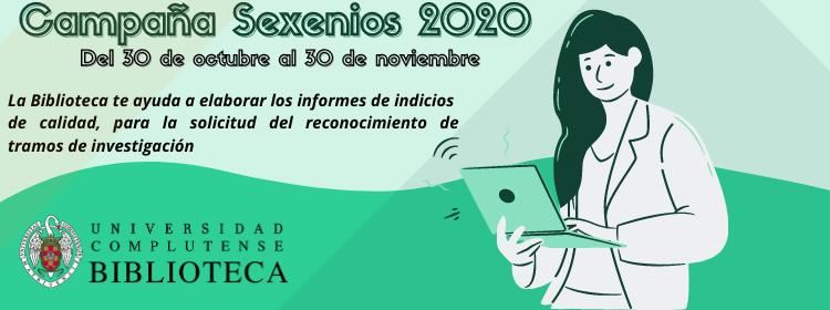 Campaña de sexenios 2020 Biblioteca Complutense