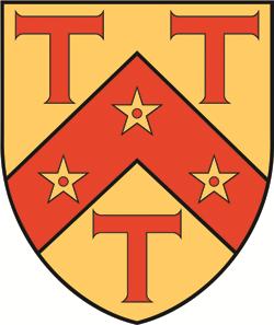 The St Antony's College coat of arms.