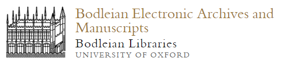 Bodleian Electronic Archives and Manuscripts