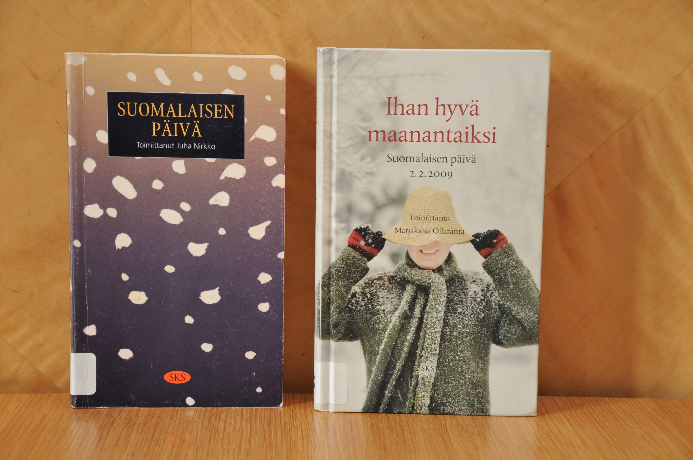 Suomalainen päivä -antologiat