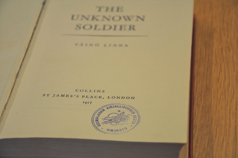 Tuntemattoman sotilaan englanninkielinen käännös