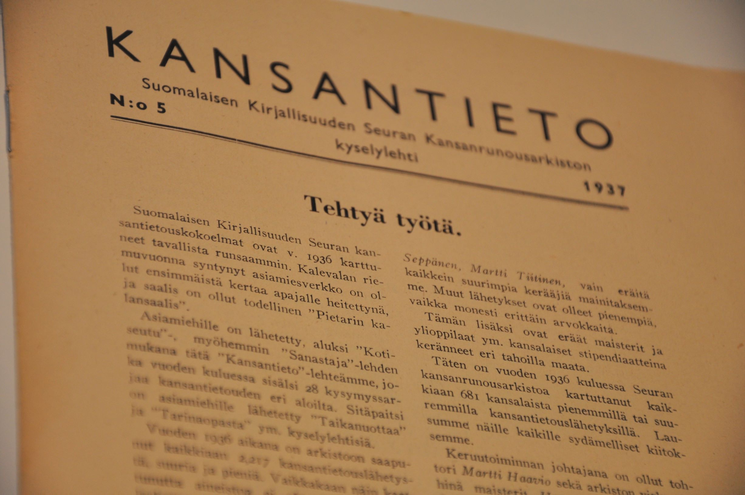 Kansantieto 1937